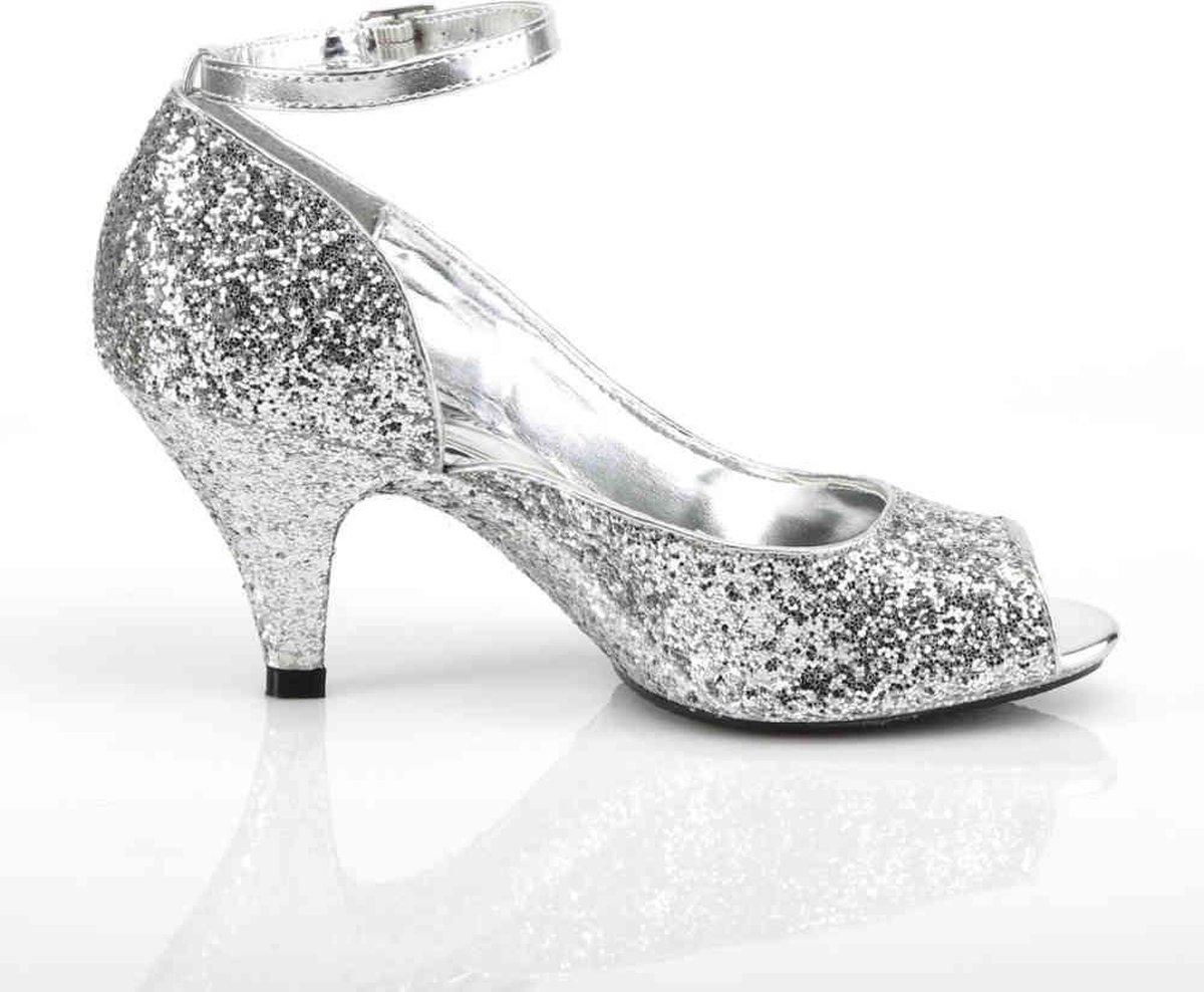 Fabulicious Hoge hakken 39 Shoes BELLE 381G Zilverkleurig