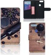 OnePlus 5T Book Cover Wijn