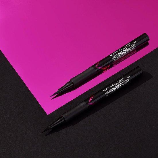 Maybelline Hyper Precise All Day Liquid Eyeliner - Zwart - (voorheen Master Precise Eyeliner)
