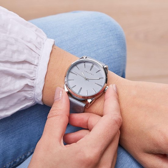 OOZOO Timepieces Blauw/Grijs horloge C8363 (42 mm) - OOZOO