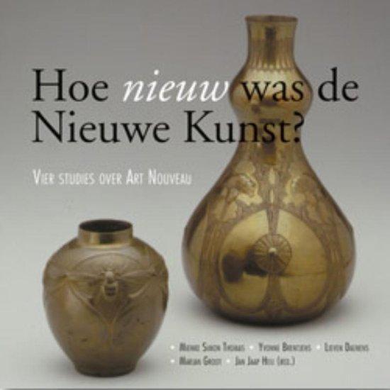 Boek cover Hoe nieuw was de nieuwe kuns van Mienke Simon Thomas (Paperback)