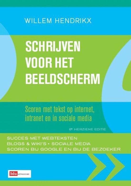Schrijven voor het beeldscherm - Willem Hendrikx |