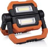 Smartwares FCL-76013 LED Opvouwbare Vlinder Werklamp – Oplaadbaar via USB – Dimbaar