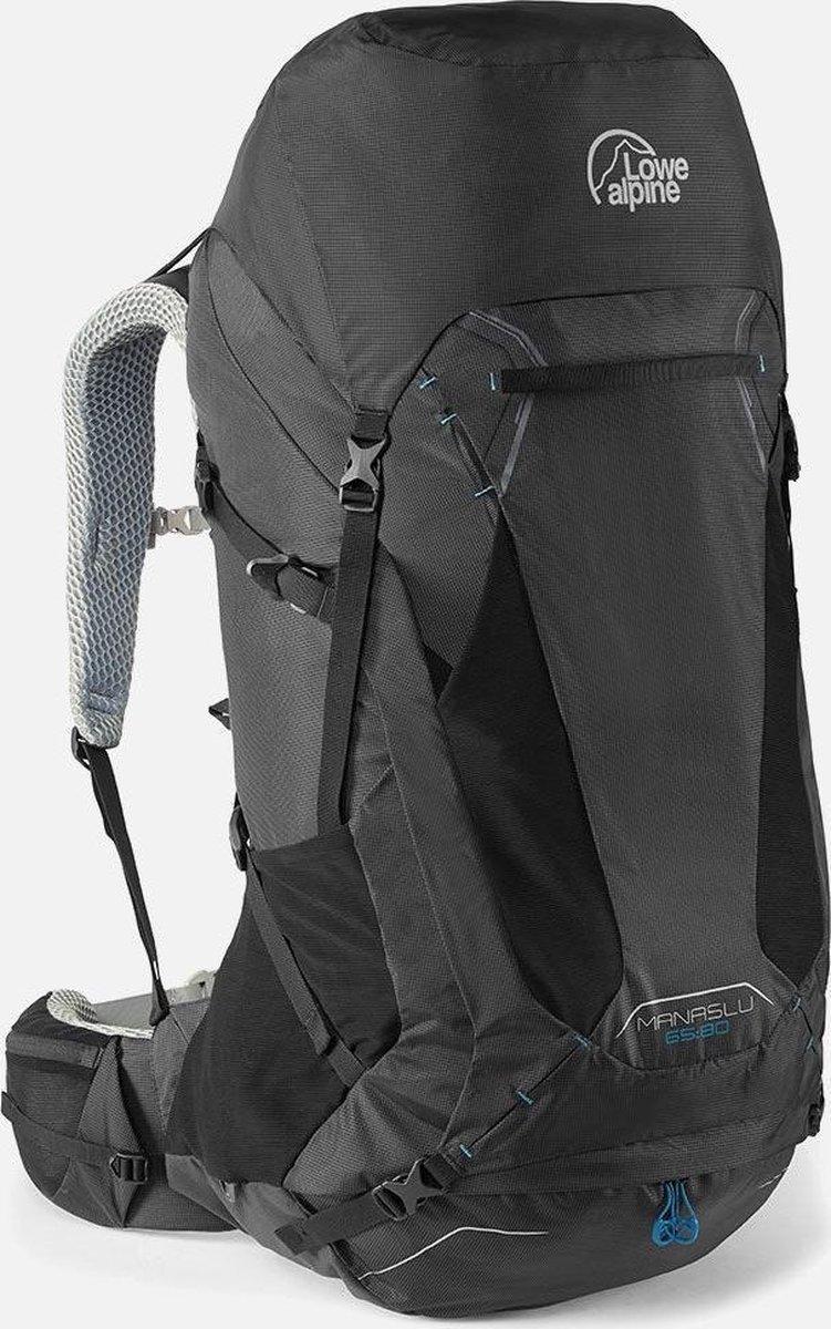 Lowe Alpine Manaslu 65:80l backpack heren L/XL - Zwart