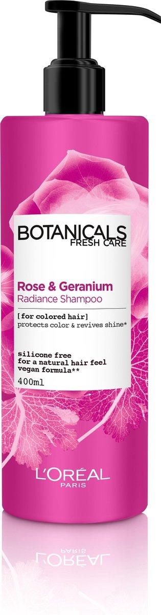 L'Oréal Paris Botanicals Geranium Radiance Remedy Shampoo - 400 ml - Dof & Gekleurd Haar