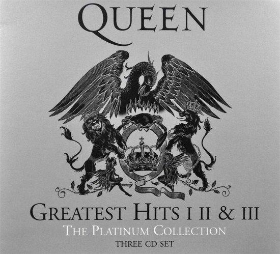 CD cover van The Platinum Collection (2011 Remastered) van Queen