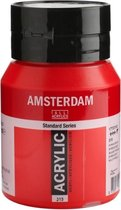 Amsterdam Standard Acrylverf 500ml 315 Pyrrolerood
