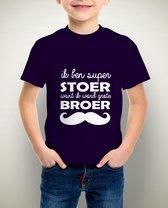 Ik word grote broer Tshirt | 92/98cm | Navy Blue