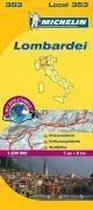 Michelin Lokalkarte Lombardei 1 : 200 000