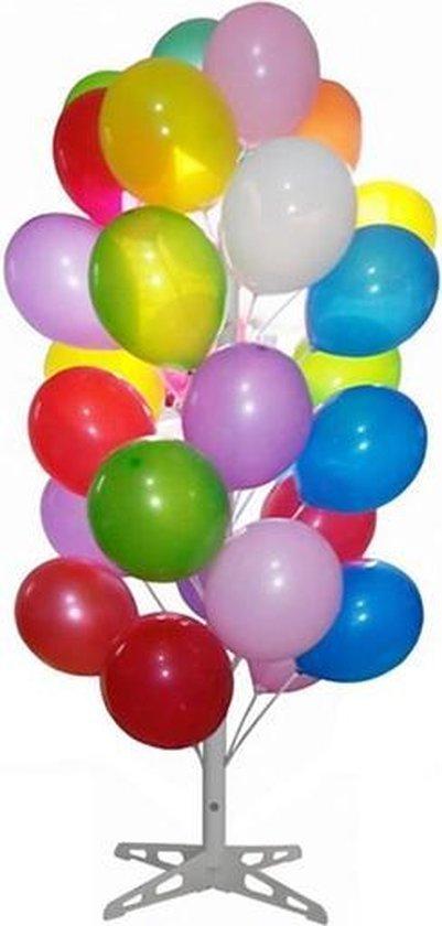 Ballonnenboom wit voor 60 ballonnen