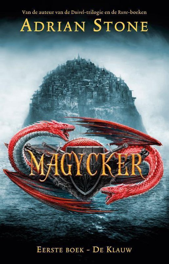 Magycker - De klauw - Adrian Stone   Fthsonline.com
