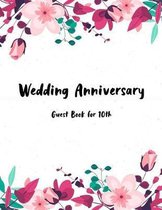 Guest Book Wedding Anniversary for 10th