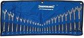 """""""Silverline 24-delige steekringsleutel set 6 - 22 mm en 1/4 - 1"""""""""""""""