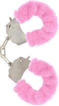 Furry Fun - Handboeien - Pink Plush