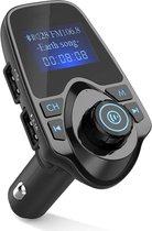 Bluetooth FM Transmitter voor in de auto - ZT – Handsfree bellen carkit met AUX / SD kaart / USB - Ingangen - Bluetooth Handsfree Carkits / adapter / auto bluetooth / LCD Display - T11 FM Transmitter