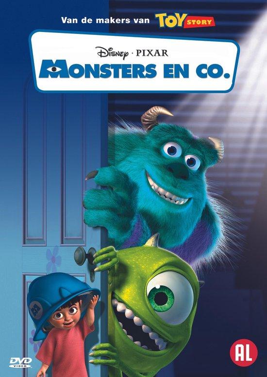 Cover van de film 'Monsters En Co'