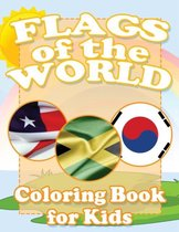 Flags of the World Coloring Book for Kids