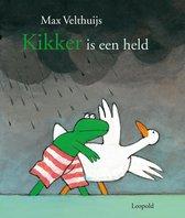 Boek cover Kikker is een held van Max Velthuijs