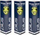 Tretorn Plus - tennisballen - 4x3 Tubes
