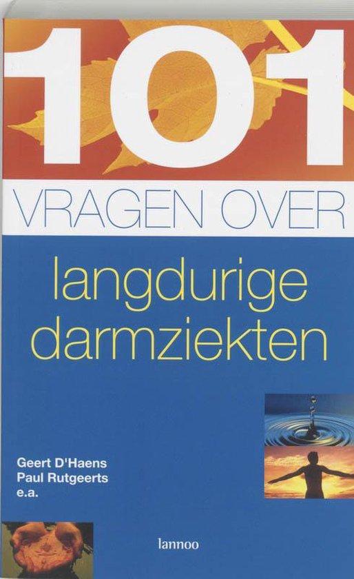 Cover van het boek '101 vragen over darmklachten' van Geert D'Haens