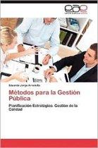 Metodos Para La Gestion Publica