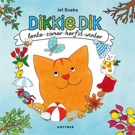 Dikkie Dik - Lente, zomer, herfst en winter - Jet Boeke |