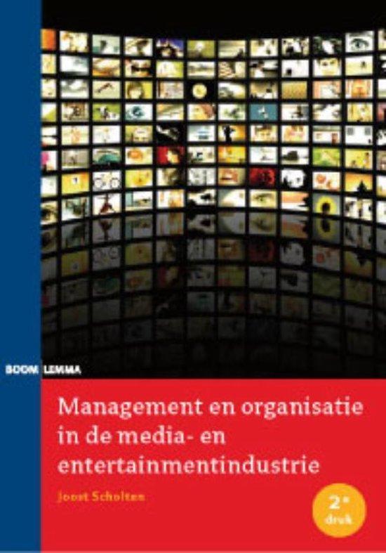 Management en organisatie in de media- en entertainmentindustrie