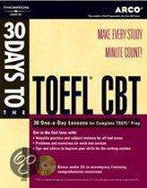 Boek cover 30 Days to the Toefl Cbt van David Dannenbaum