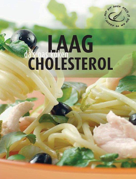 Cover van het boek 'Laag cholesterol- da's pas koken'