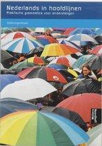 Boek cover Nederlands in hoofdlijnen Oefeningenboek van Ineke de Bakker