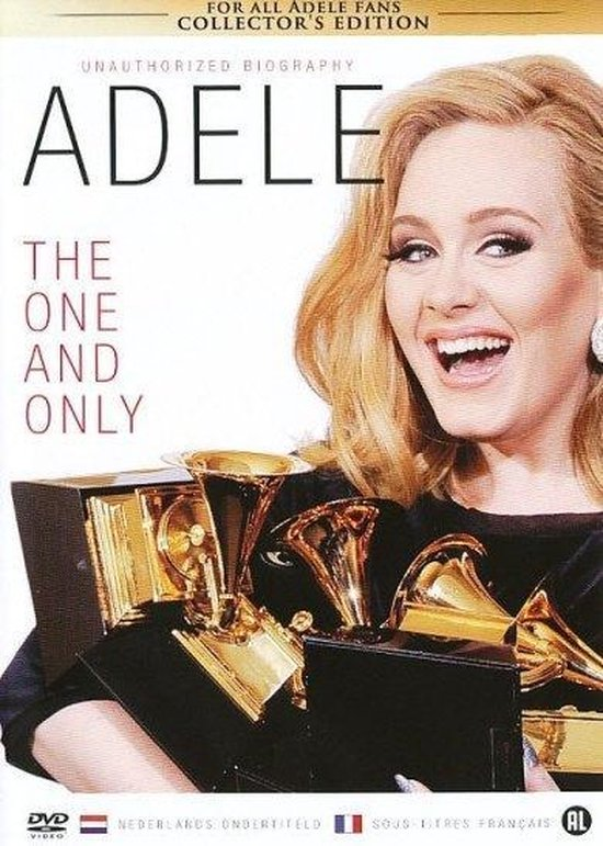 Cover van de film 'Adele - The One And Only'