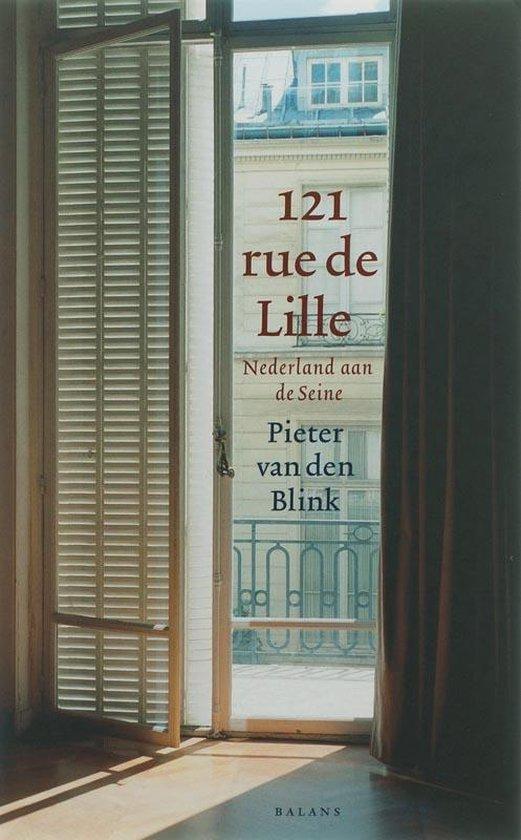 Cover van het boek '121 rue de Lille' van P. van den Blink