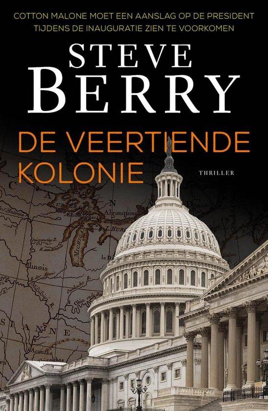 Boek cover De veertiende kolonie van Steve Berry (Onbekend)