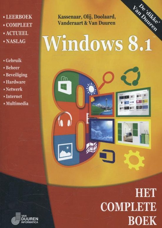 Het complete boek Windows 8.1 - Peter Kassenaar |