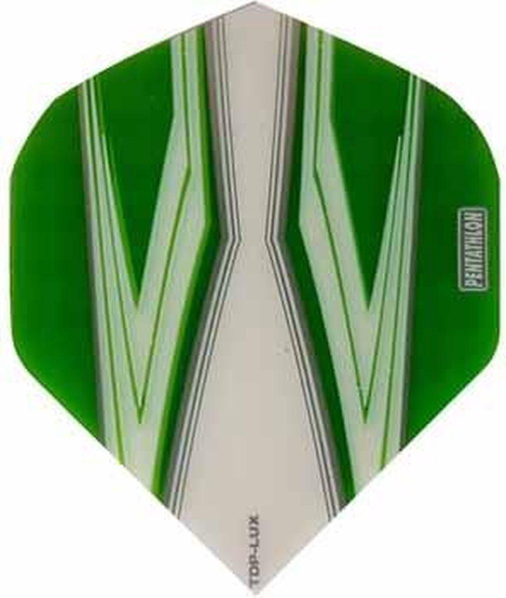 ABC Darts Flights Pentathlon - Spitfire W groen - 10 sets