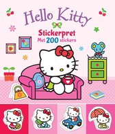 Hello Kitty - Stickerpret met 200 stickers