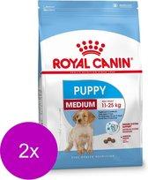 Royal Canin Shn Medium Puppy - Hondenvoer - 2 x 4 kg