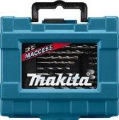 MAKITA Boor/Bit Set D36980 - 34-delig