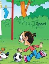 Sport Libro Da Colorare 1, 2 & 3