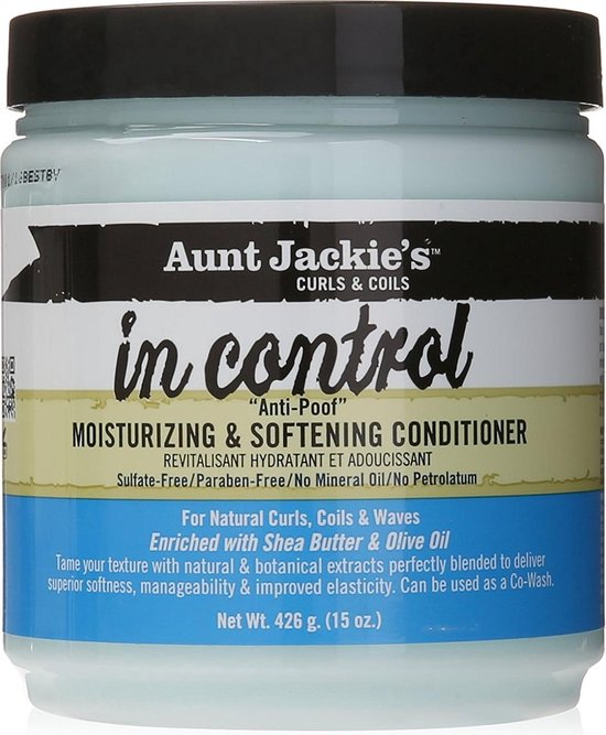Aunt Jackies Curls & Coils In Control  Anti-Poof Moisturizing Conditioner 425 gr - Aunt Jackies