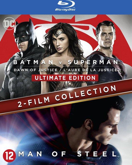 Batman v Superman: Dawn of Justice & Man of Steel (Blu-ray)