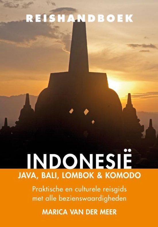 Boek cover Reishandboek Indonesië van Marica van der Meer (Paperback)