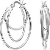Selected Jewels 925 Sterling Zilveren Lova Oorbellen  - Zilver
