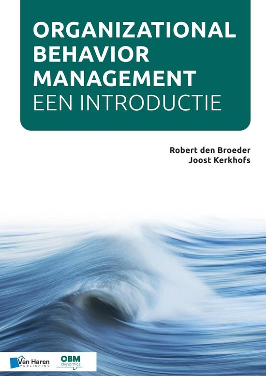 Organizational Behavior Management - Robert den Broeder |