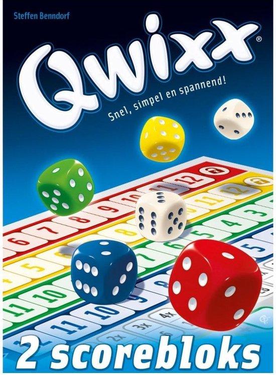 Qwixx Blocks - Scoreblocks - White Goblin Games