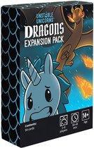 Unstable Unicorns Dragons Expansion - Engelstalig Kaartspel