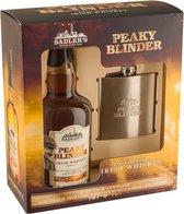 Peaky Blinders - Irish Whiskey Hip-Flask Gift-Pack