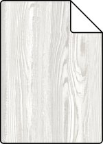 ESTAhome A4 staal van behang hout motief beige - 148624 - 21 x 26 cm