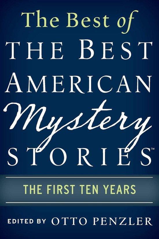 Omslag van The Best of the Best American Mystery Stories