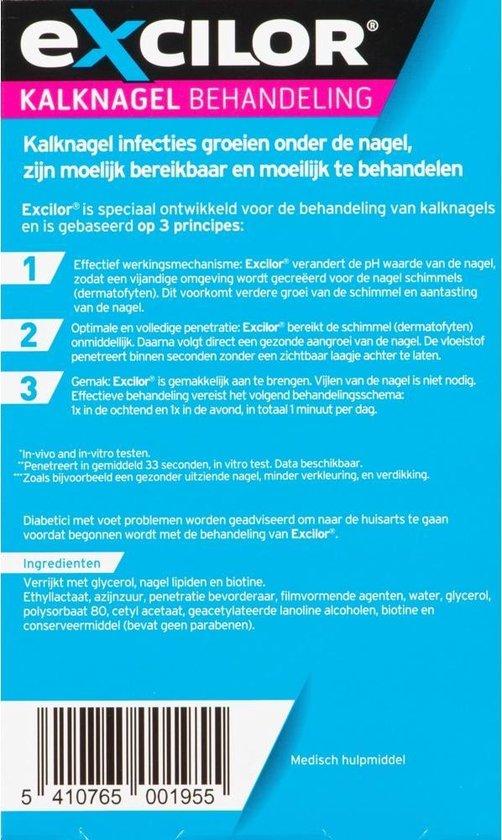 Excilor Kalknagel Solution Kwast - Kalknagelbehandeling - 3ml